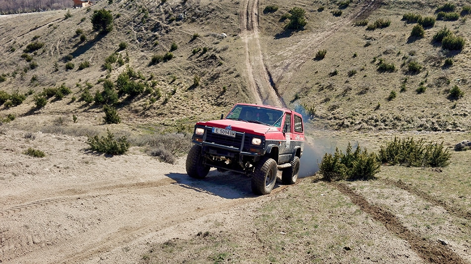 OFF-ROAD tours and routes