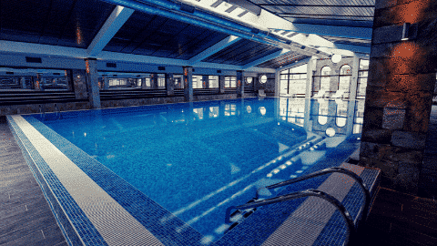 Indoor pool in Bansko