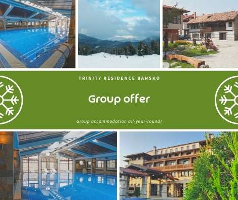 Group accommodation in Bansko